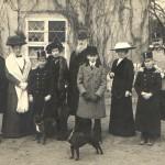 Rodinná vzácná návštěva 1914-16